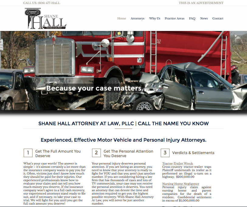 Shane Hall Attorney Kentucky