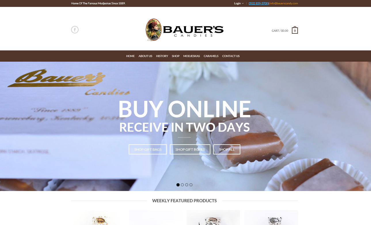 Bauers Candies