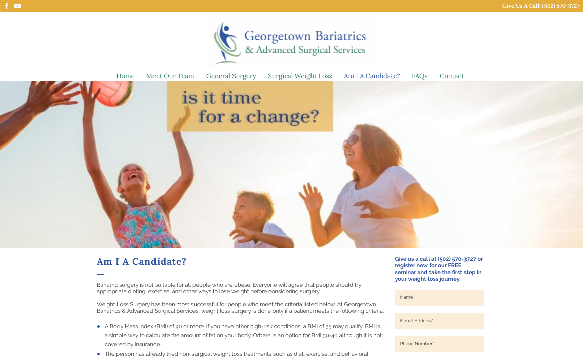 Georgetown Bariatrics Advanced Surgical