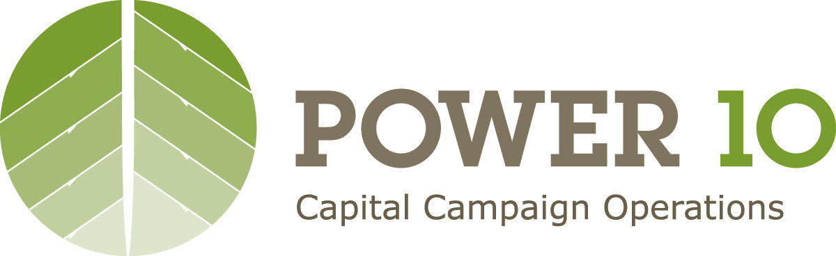 Power 10 logo design